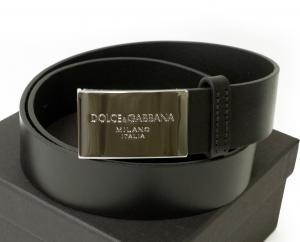 ドルチェ&ガッバーナ ベルト メンズ レザー (ブラック) 90cm