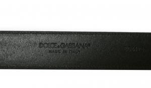 No.7 ベルト メンズ レザー DGロゴ バックル (ブラック)