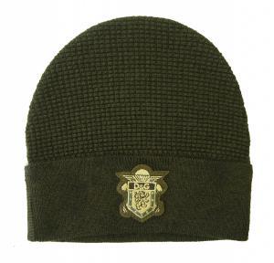 ドルチェ&ガッバーナ 帽子  ニットキャップ (モスグリーン)