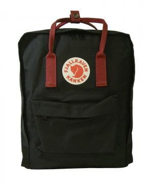 フェールラーベン カンケン リュック (ブラックxOXレッド) 550-326 Black-Ox Red