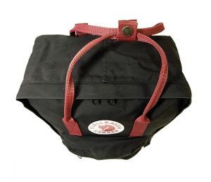 No.5 カンケン リュック (ブラックxOXレッド) 550-326 Black-Ox Red
