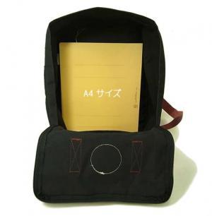 No.6 カンケン リュック (ブラックxOXレッド) 550-326 Black-Ox Red