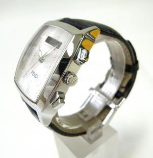 No.3 メンズ  ウォッチ   デジタルディスプレイ付  (ホワイト文字盤)