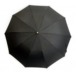 No.2 <訳あり・アウトレット>傘 折り畳み メンズ TEL1 アンブレラ Maple Crook  Style10本骨