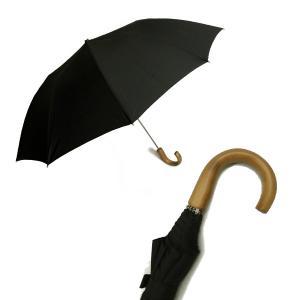 フォックスアンブレラズ <訳あり・アウトレット>傘 折り畳み メンズ TEL1 アンブレラ Maple Crook  Style10本骨