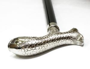 No.4 杖 ウォーキング ステッキ FWS2 フィッシュ 魚