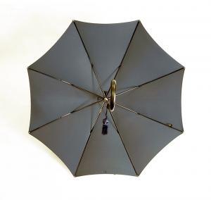 No.3 傘 かさ  8 Rib Fox Frame Slim Leather Handle WL1 Styleレディース