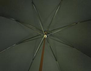 No.3 傘 かさ GENTS Brown GT19 ブルドッグ Style アニマルヘッドハンドル