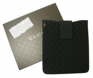 グッチ iPad ケース  GG柄 ネオプレン ブラック