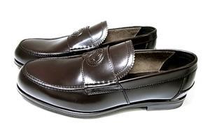 No.3 靴 メンズ ダブルGシンボル レザーシューズ 8サイズ(日本サイズ約27cm) (ココア)