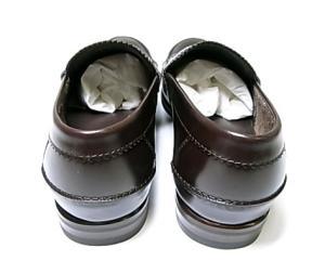 No.4 靴 メンズ ダブルGシンボル レザーシューズ 8サイズ(日本サイズ約27cm) (ココア)