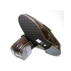 No.5 靴 メンズ ダブルGシンボル レザーシューズ 8サイズ(日本サイズ約27cm) (ココア)