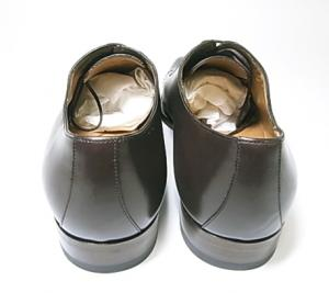 No.4 靴 メンズ レースアップシューズ(ココア)