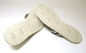 No.5 サンダル メンズ レザー (ホワイト)9サイズ・・日本サイズ約28cm