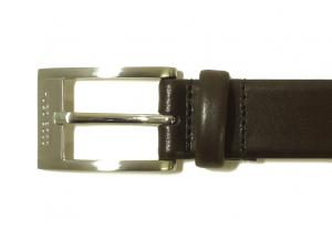 No.3 ベルト メンズ 牛革 BRANDON 85cm(ダークブラウン)