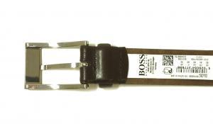 No.4 ベルト メンズ 牛革 BRANDON 85cm(ダークブラウン)