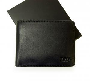 ヒューゴ・ボス 財布 AREZZO ソフトレザー三つ折(ブラック)