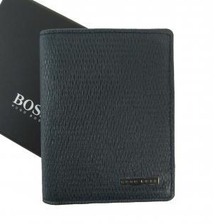ヒューゴ・ボス カードケース (ブルー)