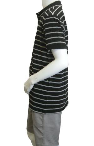 No.2 ポロシャツ ボスグリーン メンズ Paddy1 ゴルフ用 (ブラック)