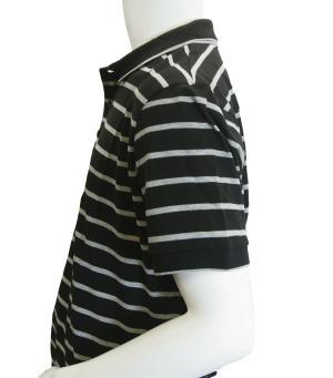 No.3 ポロシャツ ボスグリーン メンズ Paddy1 ゴルフ用 (ブラック)