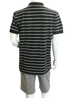 No.4 ポロシャツ ボスグリーン メンズ Paddy1 ゴルフ用 (ブラック)