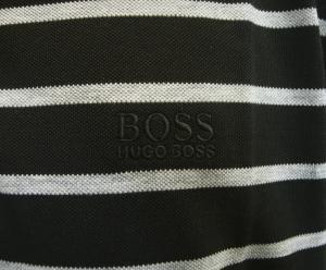 No.5 ポロシャツ ボスグリーン メンズ Paddy1 ゴルフ用 (ブラック)