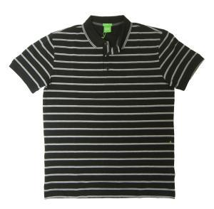 No.7 ポロシャツ ボスグリーン メンズ Paddy1 ゴルフ用 (ブラック)