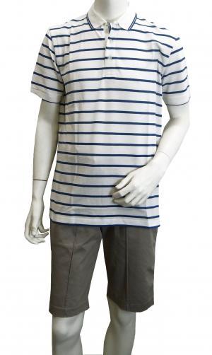 ヒューゴ・ボス ポロシャツ ボスグリーン メンズ Paddy1 ゴルフ用 (ホワイト)
