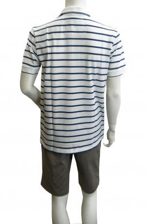 No.4 ポロシャツ ボスグリーン メンズ Paddy1 ゴルフ用 (ホワイト)