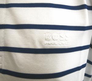 No.5 ポロシャツ ボスグリーン メンズ Paddy1 ゴルフ用 (ホワイト)