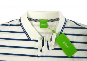 No.7 ポロシャツ ボスグリーン メンズ Paddy1 ゴルフ用 (ホワイト)