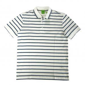No.8 ポロシャツ ボスグリーン メンズ Paddy1 ゴルフ用 (ホワイト)