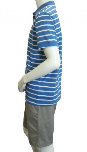 No.3 ポロシャツ ボスグリーン メンズ Paddy1 ゴルフ用 (ブルー)