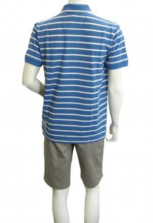 No.4 ポロシャツ ボスグリーン メンズ Paddy1 ゴルフ用 (ブルー)