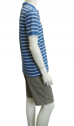 No.5 ポロシャツ ボスグリーン メンズ Paddy1 ゴルフ用 (ブルー)
