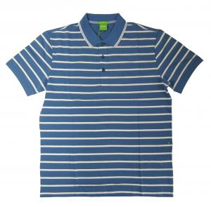 No.7 ポロシャツ ボスグリーン メンズ Paddy1 ゴルフ用 (ブルー)