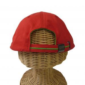 No.3 キャップ 帽子 メンズ ボスグリーン ゴルフ (レッド)