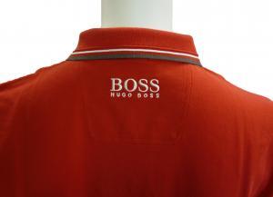 No.4 ポロシャツ ボスグリーン PADDY ゴルフ用 Sサイズ (レッド)