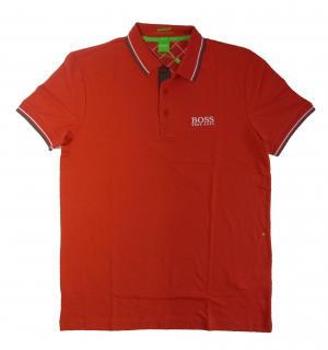 No.5 ポロシャツ ボスグリーン PADDY ゴルフ用 Sサイズ (レッド)