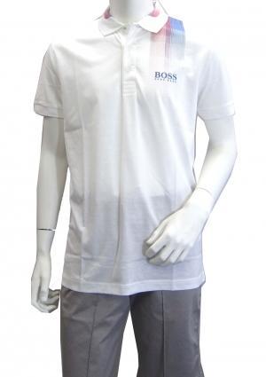 ヒューゴ・ボス ポロシャツ ボスグリーン メンズ Sサイズ Paddy Pro5 ゴルフ用