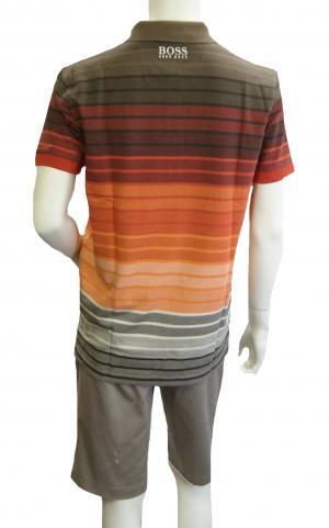 No.3 ポロシャツ ボスグリーン メンズ Paddy Pro1 ゴルフ用 Sサイズ(レッド)
