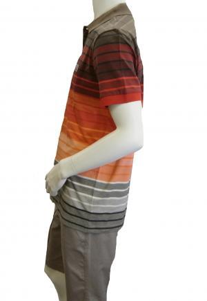 No.4 ポロシャツ ボスグリーン メンズ Paddy Pro1 ゴルフ用 Sサイズ(レッド)