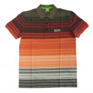 No.6 ポロシャツ ボスグリーン メンズ Paddy Pro1 ゴルフ用 Sサイズ(レッド)