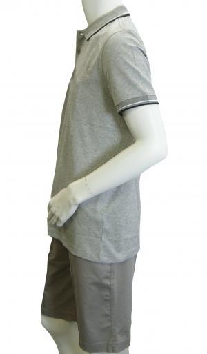 No.2 ポロシャツ ボスグリーン PADDY Lサイズ ゴルフ用 (グレー)