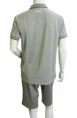 No.3 ポロシャツ ボスグリーン PADDY Lサイズ ゴルフ用 (グレー)