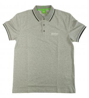 No.6 ポロシャツ ボスグリーン PADDY Lサイズ ゴルフ用 (グレー)