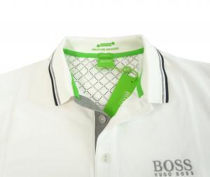 No.5 ポロシャツ ボスグリーン PADDY ゴルフ用 (ホワイト) Sサイズ