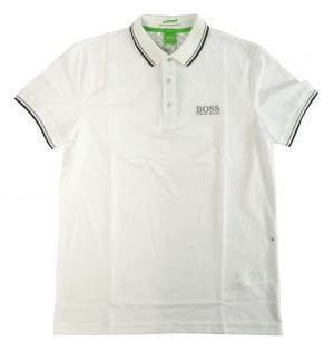 No.6 ポロシャツ ボスグリーン PADDY ゴルフ用 (ホワイト) Sサイズ