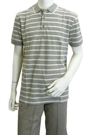 ヒューゴ・ボス ポロシャツ ボスグリーン メンズ Paddy1 ゴルフ用 (グレー)