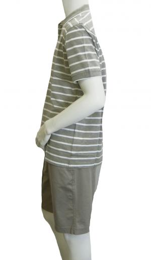 No.4 ポロシャツ ボスグリーン メンズ Paddy1 ゴルフ用 (グレー)